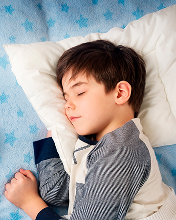 CHILDREN WHO SLEEP QUICKLY, HOW?