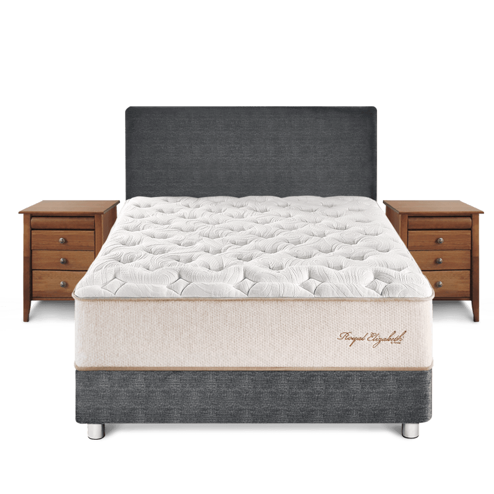DORMITORIO CON VELADORES ROYAL ELIZABETH - King